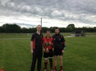 Alan Sheedy (Captain) and Management team of Football North Cork 2012