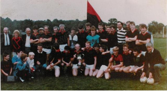 Junior B Football Champions 1989