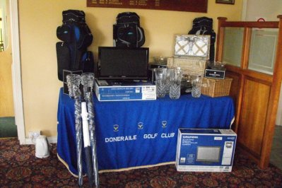 Selection of Prizes on Offer