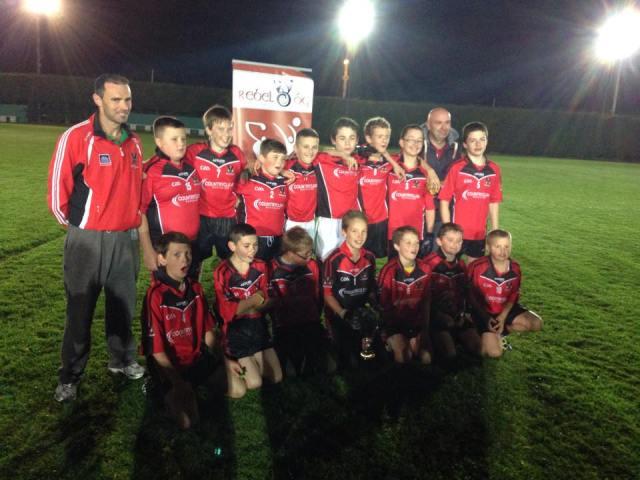 Under 13 winning team