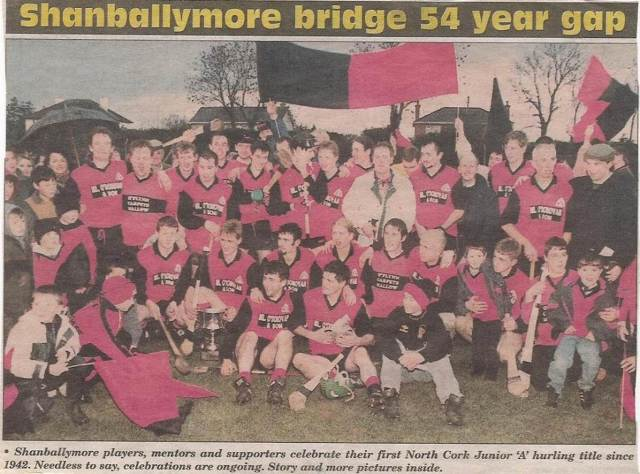 1996 North Cork Champions