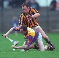 James Purcell in action for Wexford