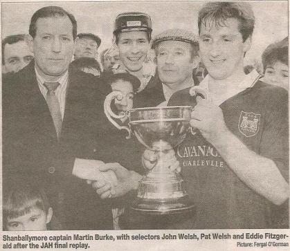 Martin with League Cup