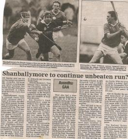 Shanballymore Continue Unbeaten run