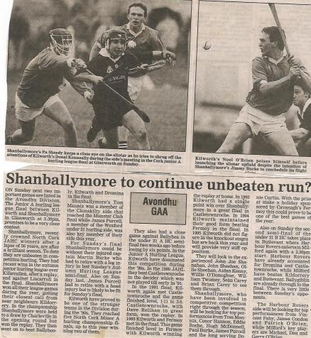 Shanballymore Continue Unbeaten run