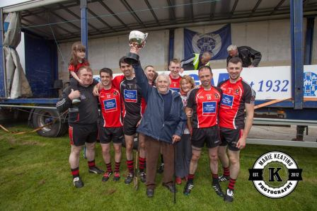Ted Fouhy with the All Ireland cup