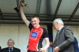 Brian O Reilly Lifts the All Ireland cup